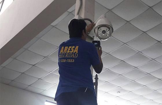 Instalación de Cámaras CCTV y Alarmas